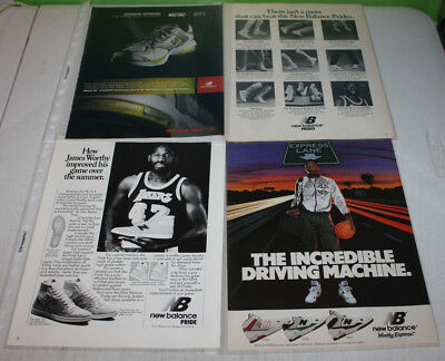Vintage New Balance Sneakers Advertising Print Ad Poster | You Pick