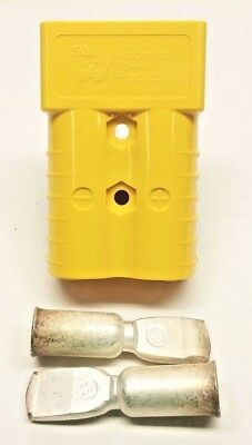 6323G2 Anderson Original SB 350 Battery Connector Yellow 4/0 AWG