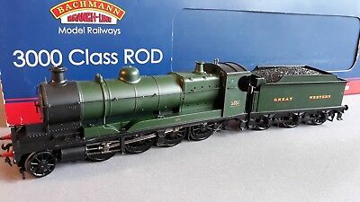 Bachmann Gwr Rod 3000 Class 2-8-0 #3031 Stunning Condition Boxed Oo Gauge(Fx 61)