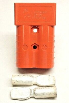 6400G1 Anderson Original SB 350 Battery Connector Orange 2/0 AWG