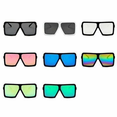 Big Square Women Men Sunglasses UV400 Eyewear Hip Hop All-match Sun Glasses AU