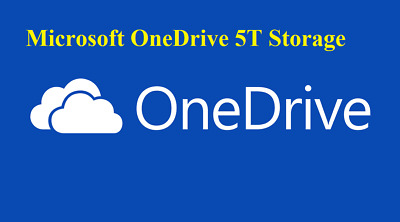 One drive 5TB storage account