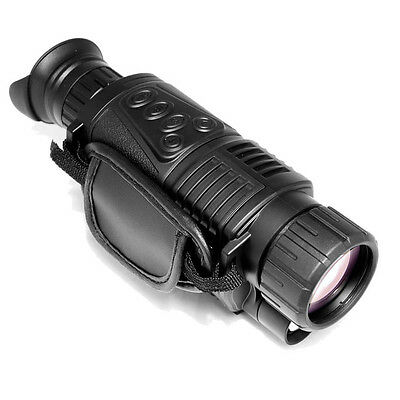 Digital Night Vision 5x 40 Monocular Camera Zoom 200m Range Photos/ Video DVR