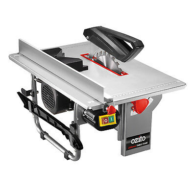 OZITO 200mm TABLE SAW Dust Extraction Port 800W Motor Bevel Adjustment - 3YR WTY