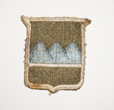 80th Infantry Division Patch WWII US Army P7097