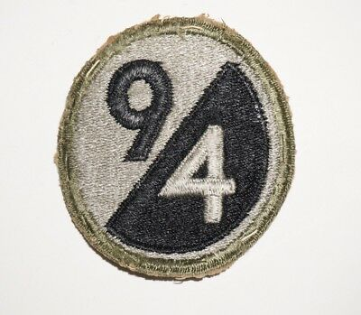94th Infantry Division Patch WWII US Army P7098