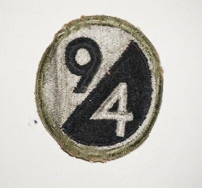 94th Infantry Division Patch WWII US Army P7099