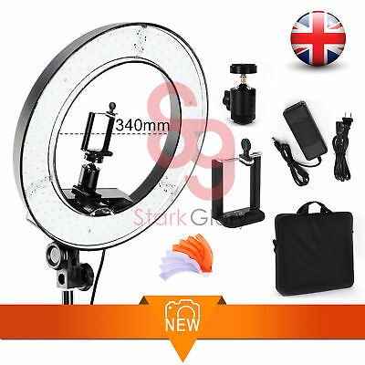 42W 34cm LED Studio Ring Light Beauty Makeup Selfie Photo Video Broadcast Online