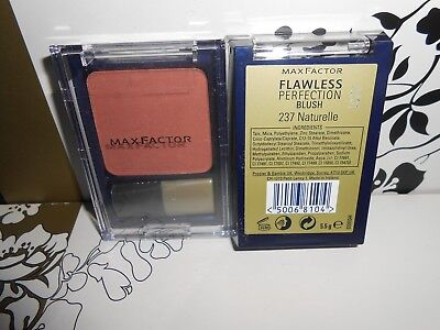 Max Factor Flawless Perfection Blush 237 Naturelle Discontinued Full Size 5.5G