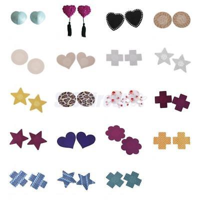Assorted Sexy Womens Disposable Pasties Adhesive Breast Petal Sticker Bra