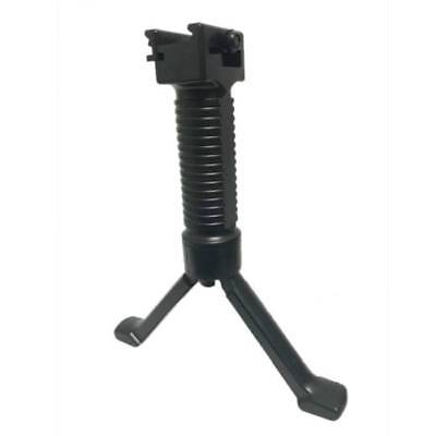Tactical Vertical Rifle Bipod Hand Fore Grip Foregrip 20mm Picatinny Weaver Rail