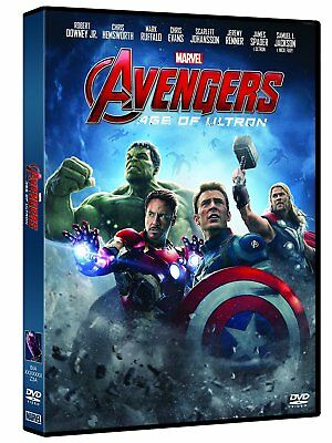The Avengers: Age Of Ultron Della Marvel (Dvd) Nuovo, Italiano, Originale