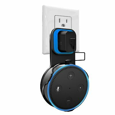 Outlet Wall Mount Hanger Holder Stand for All-New Amazon Echo Dot 2nd Generation