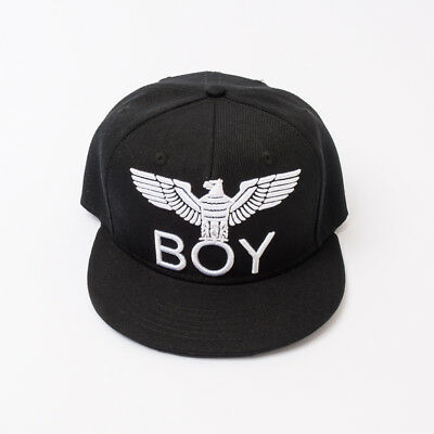 "Cappellino Nero Ragazzo (S/m/xl) ""boy London"" Cabl181100J S/s 2018 30% Off"