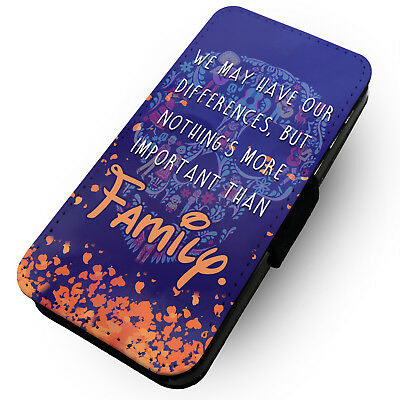 Our Differences Family - Printed Faux Leather Flip Phone Case #2