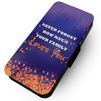 Your Family Loves You - Printed Faux Leather Flip Phone Case #2