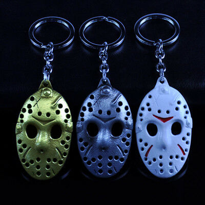 Friday The 13th Mask Alloy Key Chains Keychain Keyfob Keyring Gifts