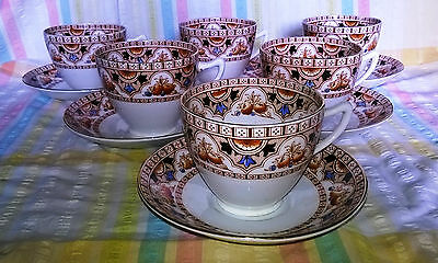 Antique Royal Vale China Tea Set H.J.C Longton England