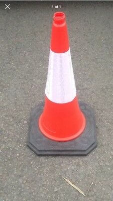 1m Road Traffic Management star lite 2-Piece Cones - Brand New (pack of 75)