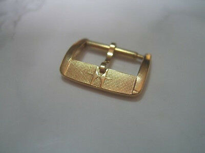 Vintage Nos 14Mm Hamilton Gold Plated Watch Buckle                         *6857