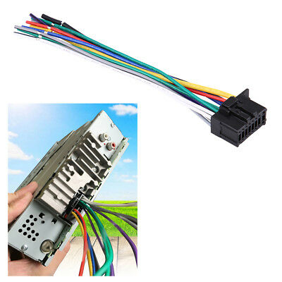 Vehicle Car Radio Stereo Wire Harness Cable Cord 16 Pin Plug for Pioneer 2350 SS