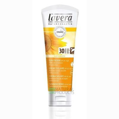 Lavera Organic Sun Cream SPF30 High Protection 75ml