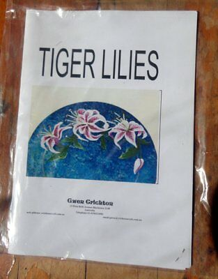 Painting Pattern - Tiger Lilies