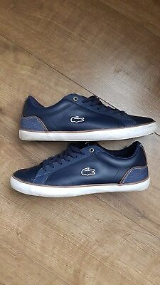 1178f82b0 MENS LACOSTE TRAINERS size 8 - £21.00