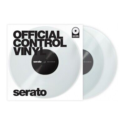Serato Rane Scratch Live Performance Timecode Vinyl clear (Paar)