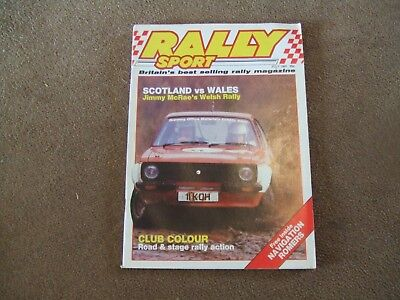 Rally Sport Rallysport July 1985 Manx Stages Coleman Tryes Centurion Acropolis