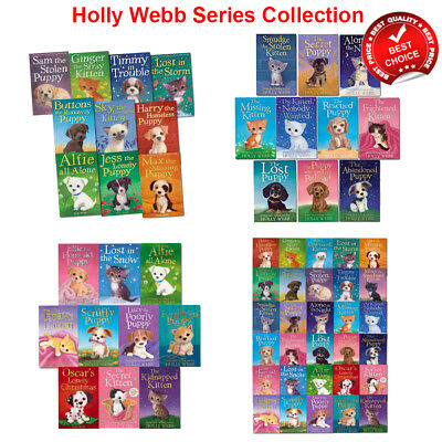 Holly Webb Series Puppy Kitten Animal Stories Collection Books Set Pack NEW