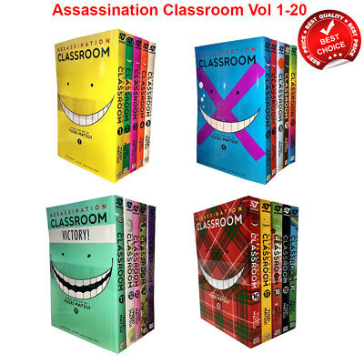 Assassination Classroom Vol.1-21 Yusei Matsui Collection Books Set series pack