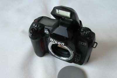 Nikon D D100 Digital-SLR DSLR Camera - Body only - BLACK