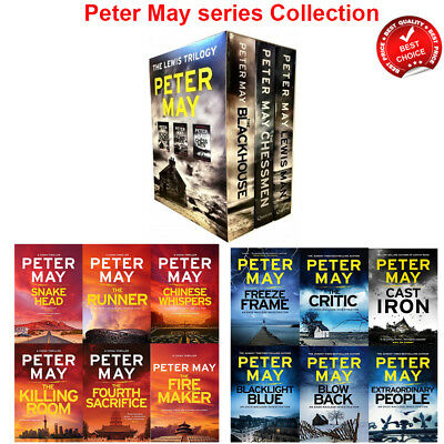 Peter May Collection Lewis Trilogy, Enzo File, China Thrillers Series Books Set