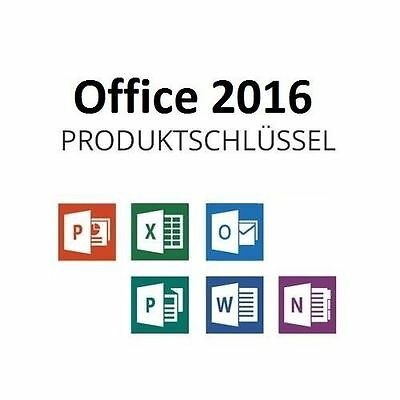 microsoft word 2016 deutsch 32 64 bit vollversion eur 24. Black Bedroom Furniture Sets. Home Design Ideas