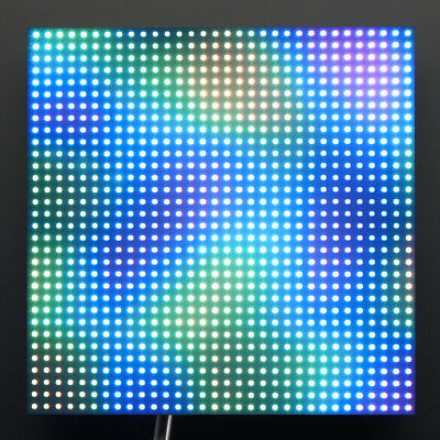 Adafruit 32x32 RGB LED Matrix Panel, 1024 helle RGB-LEDs, 4mm Rastermaß, 607