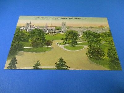 Vintage General View Toronto University Hart House Canada Post Card PC50