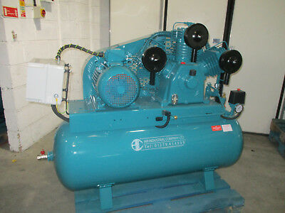 Air Compressor HW50 3 Cylinder,10 HP, 7.5KW, 48 CFM displacement, Dual Control