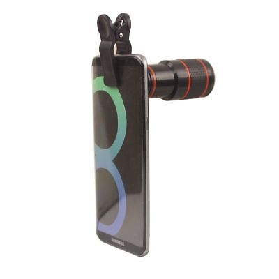 12X Zoom Camera Telescope Optical Lens Clip For Samsung Galaxy S9 S9+ Plus Note8