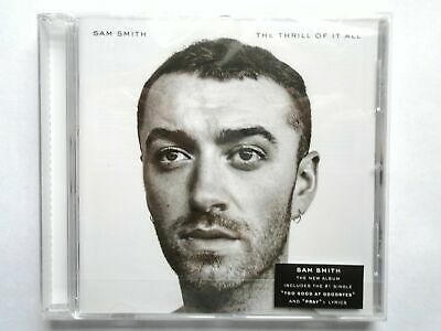 SAM SMITH - The Thrill Of It All  CD  New & Sealed