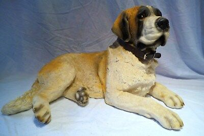 Saint. Bernard dog statue very very large very detailed and just beautiful