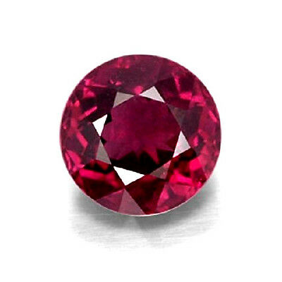 4.20ct Natural Loose Purplish Red Garnet GIA Certified Round Pyrope VS1 No Heat