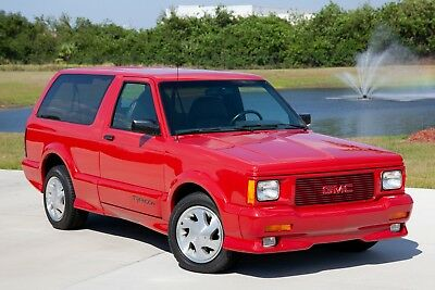1993 GMC Typhoon  1993 Museum Quality Typhoon with less than 17k miles. Red on Red, one of 77 made