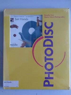 NOS Unopened Royalty Free Photodisc Digital Stock Photography # 2 Faces & Hands