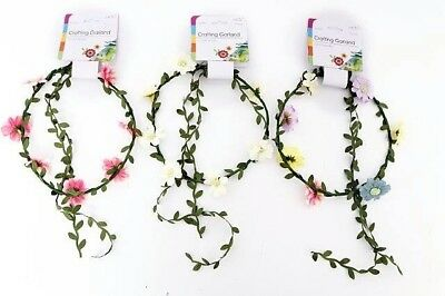 Crafting Garland Daisy - Pink - Ivory - Multi Coloured - Choose Colour Required