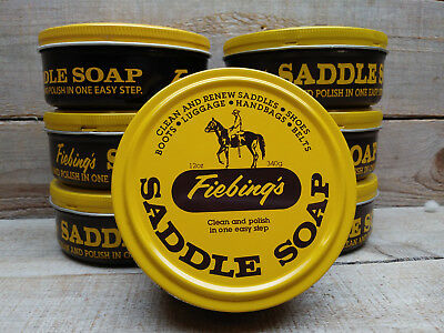 Fiebing's Saddle Soap- Yellow- 12 oz - Clean and Polish