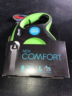 PET-298372 - Flexi New Comfort Tape 8m Green Large