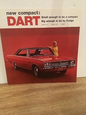 1967 Dodge Dart  Sales Brochure 11 Pages