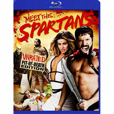 Meet the Spartans: Unrated Pit-of-Death Edition (Blu-Ray Disc) Brand New