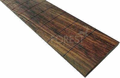 "Indian rosewood guitar fretboard, fingerboard 25"" PRS scale, slotted R10"""